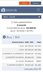 bitcoin casino Bildschirmfoto