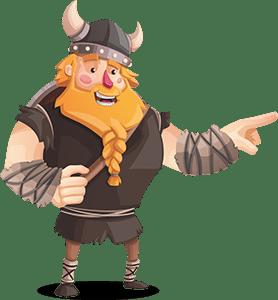 Vikingen Pekar på Free Spins