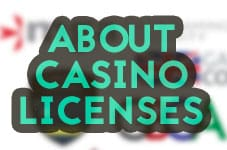 about casino licenses