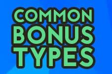 common bonus types