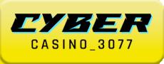 Cyber Casino 3077 logo