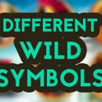 the different wild symbols in slots