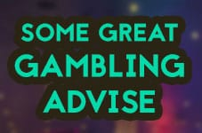 gambling advise