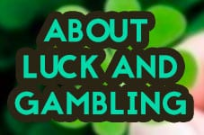 luck and gambling