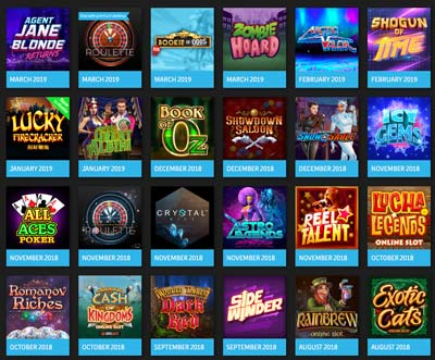 microgaming new releases